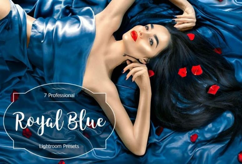 Preset Royal Blue for lightroom