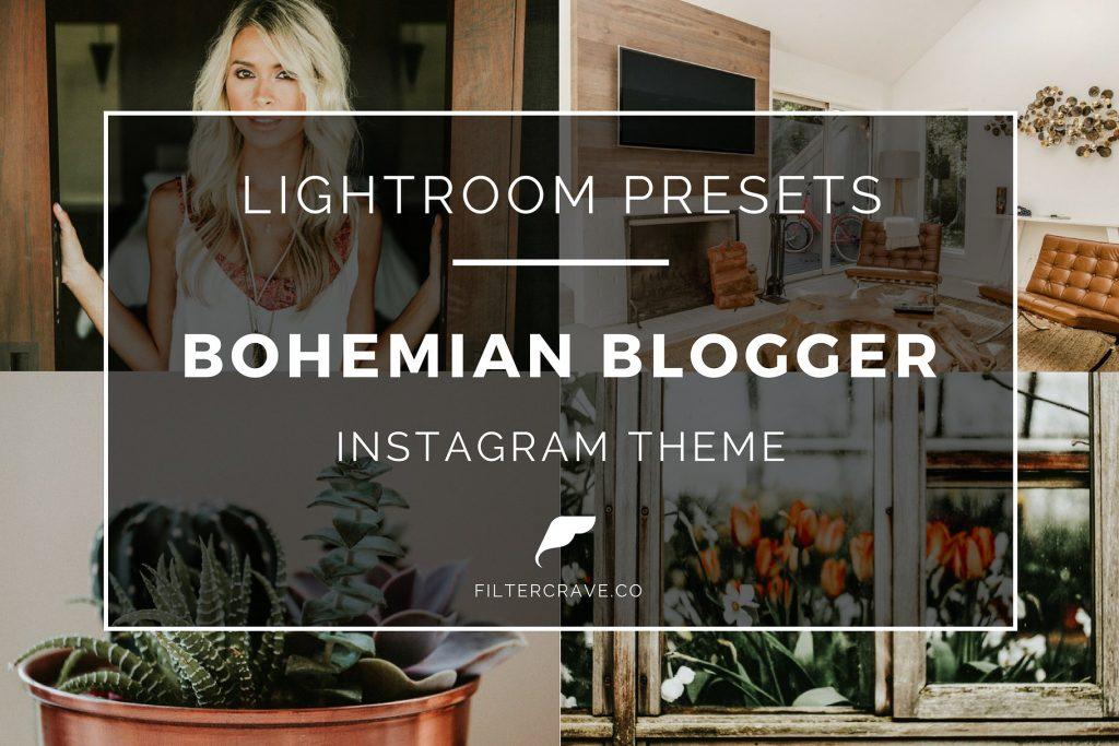Preset Bohemian Blogger Lightroom Presets for lightroom