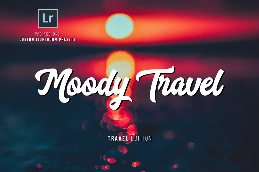 Preset Moody Travel Presets for lightroom
