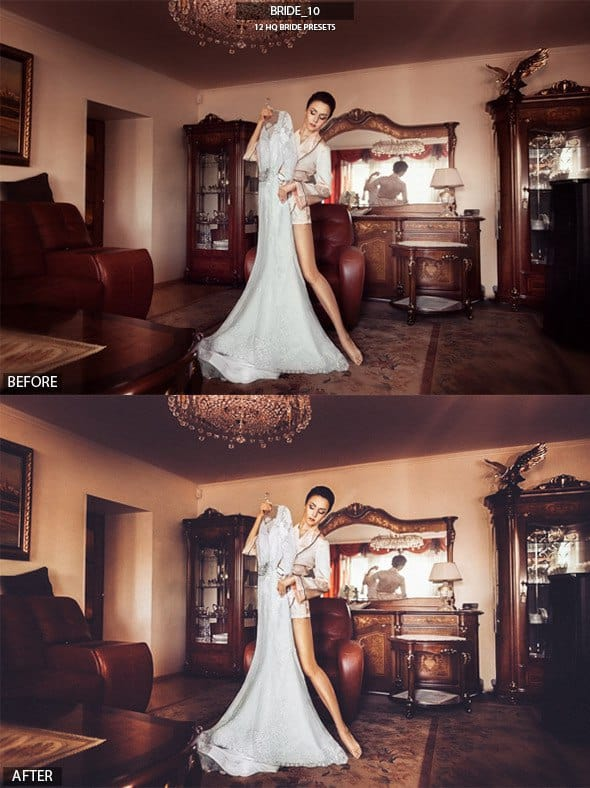 Preset Bride Presets for lightroom