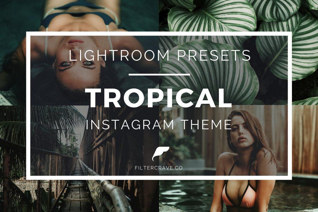 Preset Tropical Instagram Lightroom Presets for lightroom