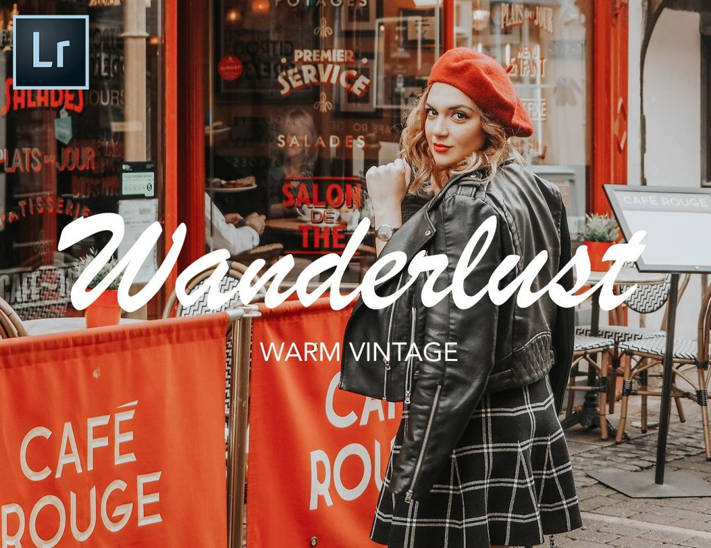Preset Wanderlust Blogger Lightroom Preset for lightroom
