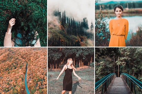 Preset Fall Presets 2018 for lightroom