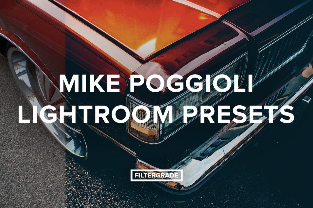 Preset Mike Poggioli Lightroom Presets for lightroom