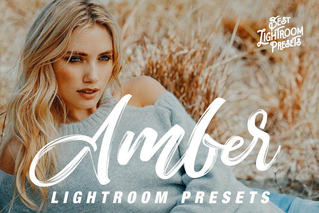 Preset Amber Lightroom Preset for lightroom
