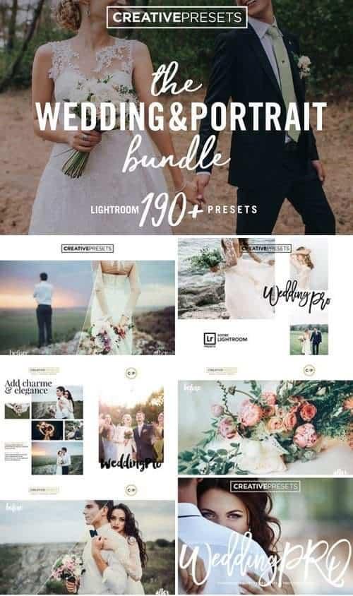 Preset Wedding & Portrait for lightroom