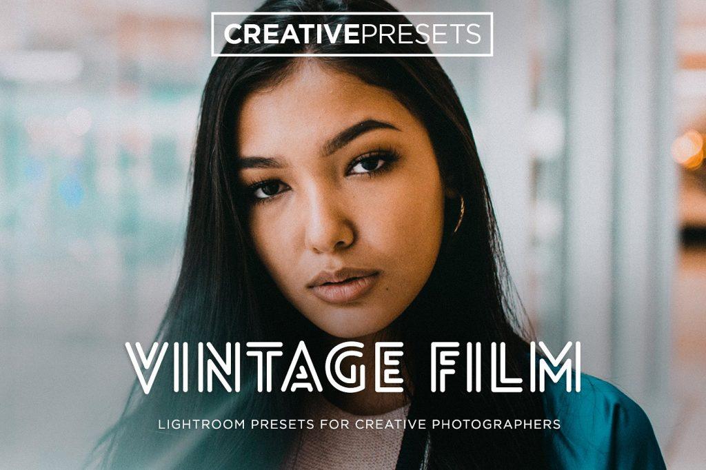 Preset Vintage Film Lightroom Presets for lightroom