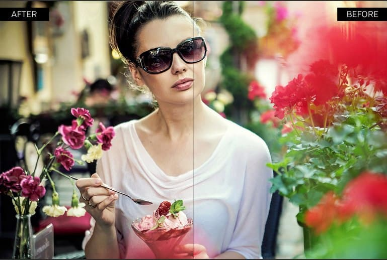 Preset 40 Cinematic Presets for lightroom