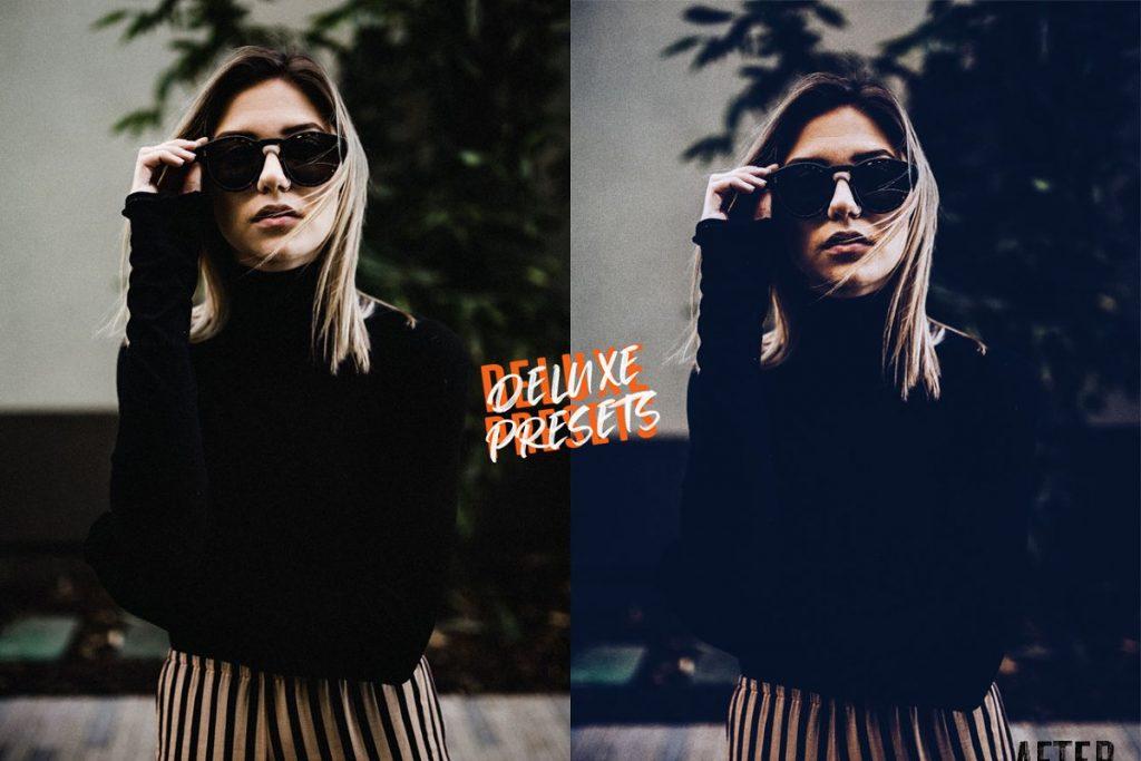 Preset Blu Film for lightroom