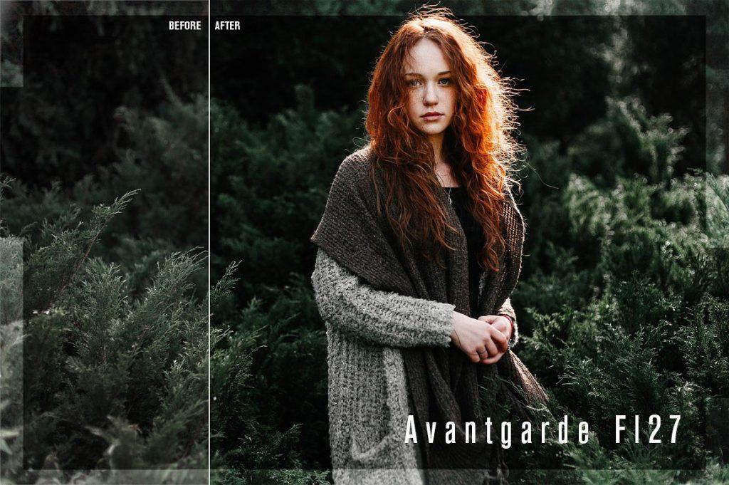 Preset Avantgarde for lightroom
