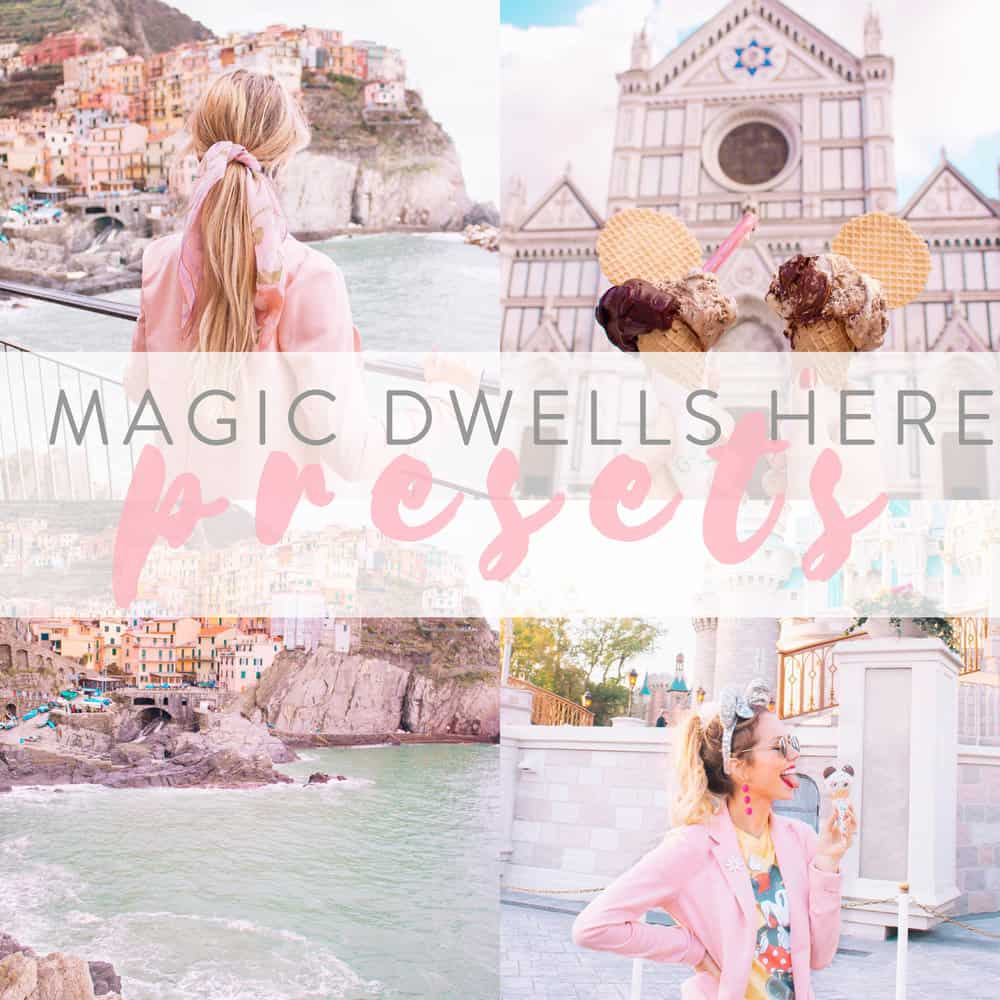 Preset Allison Schaper - The Magic Dwells Desktop for lightroom