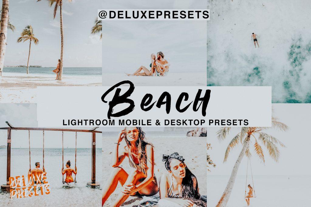 Preset Beach Lightroom Desk Preset for lightroom