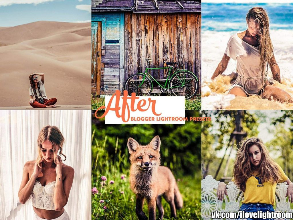 Preset Travel Blogger Instagram LR presets for lightroom