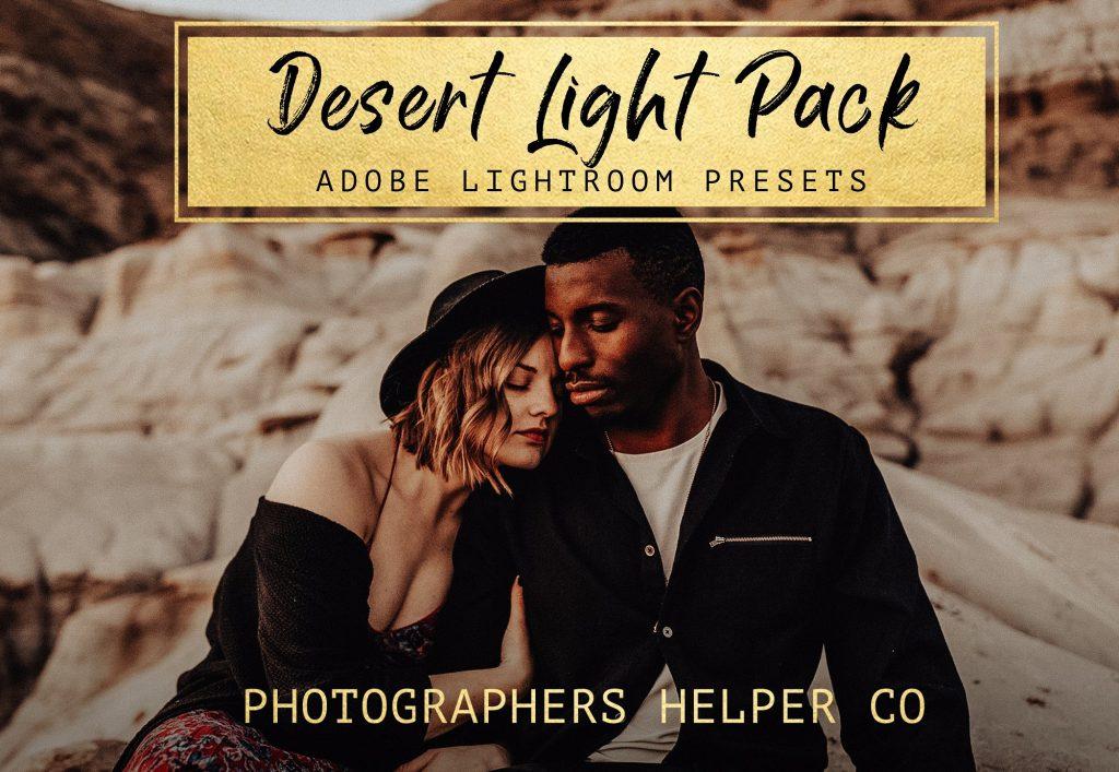 Preset Desert Light LR Preset Pack for lightroom