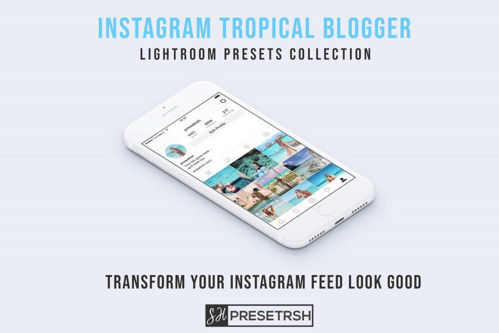Preset Blogger instagram Lightroom Presets for lightroom