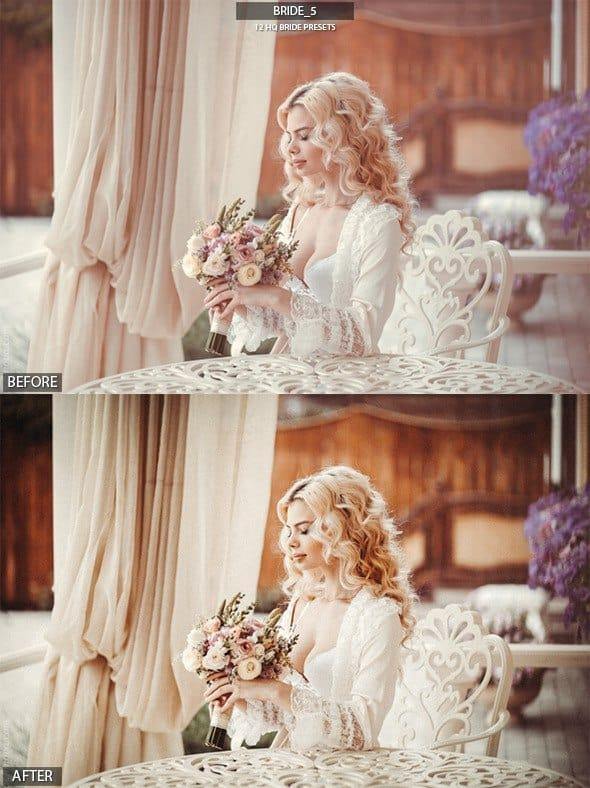 Preset Bride Presets for lightroom