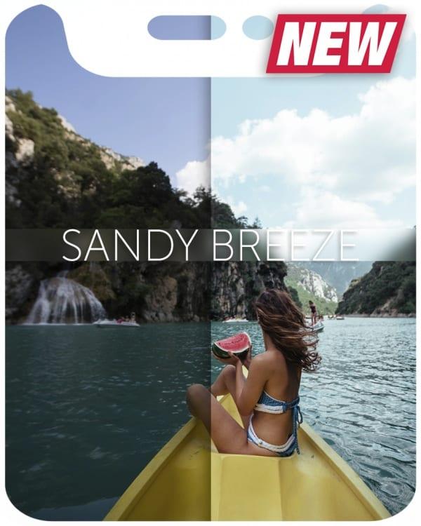 Preset KatieOne - SANDY BREEZE for lightroom