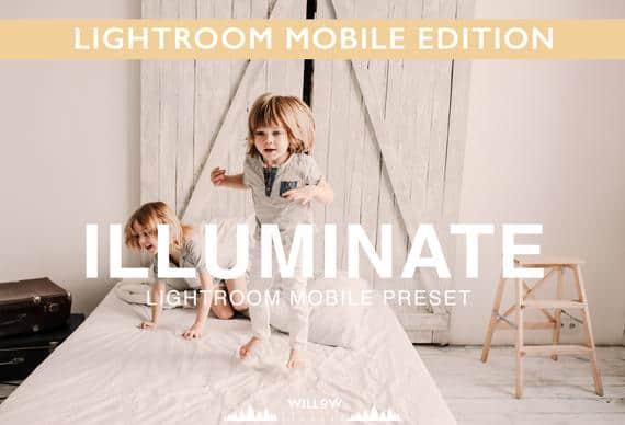 Preset ILLUMINATE MOBILE PRESET for lightroom
