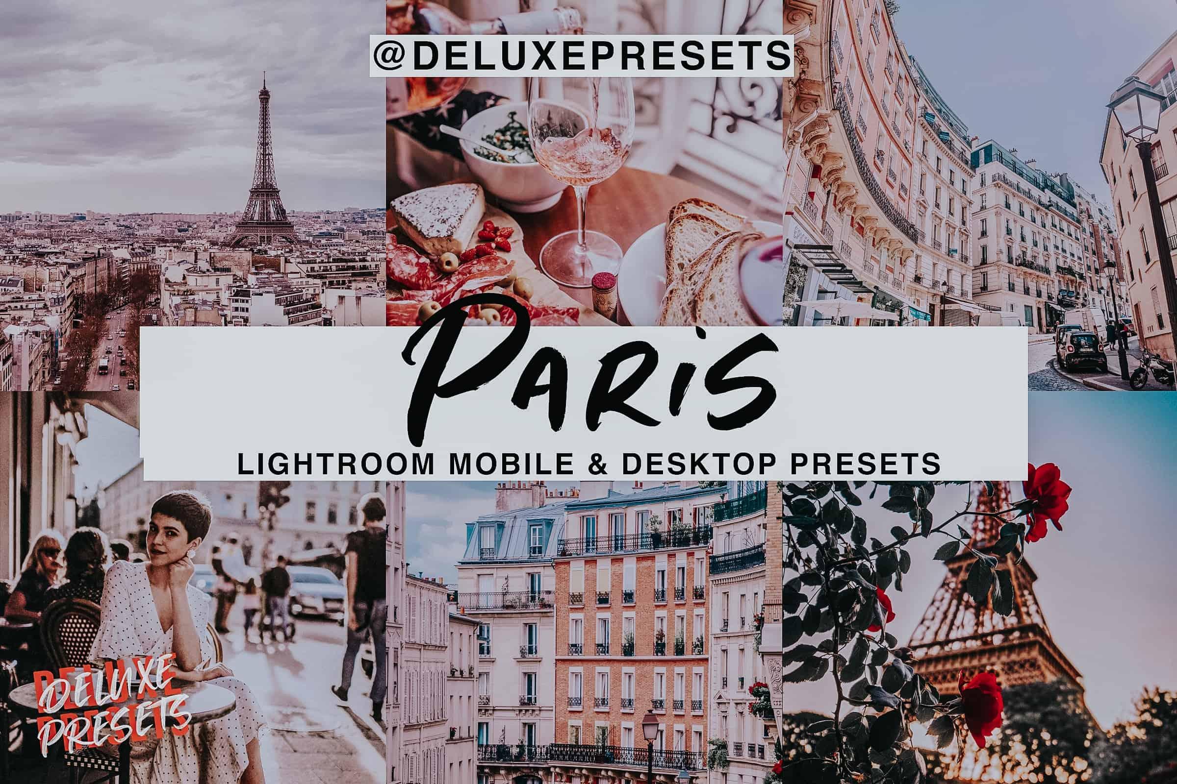 Preset Paris Lightroom Preset for lightroom