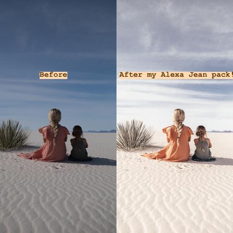 Preset Alexa Jean Photo Mobile Presets for lightroom