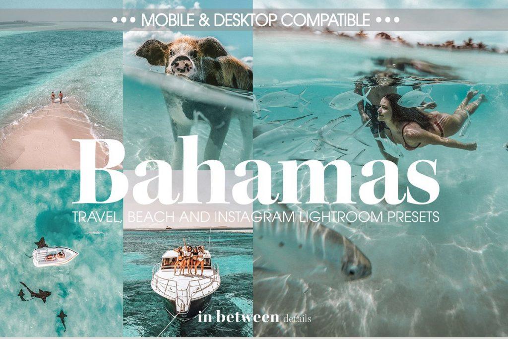 Preset Bahamas Preset for lightroom