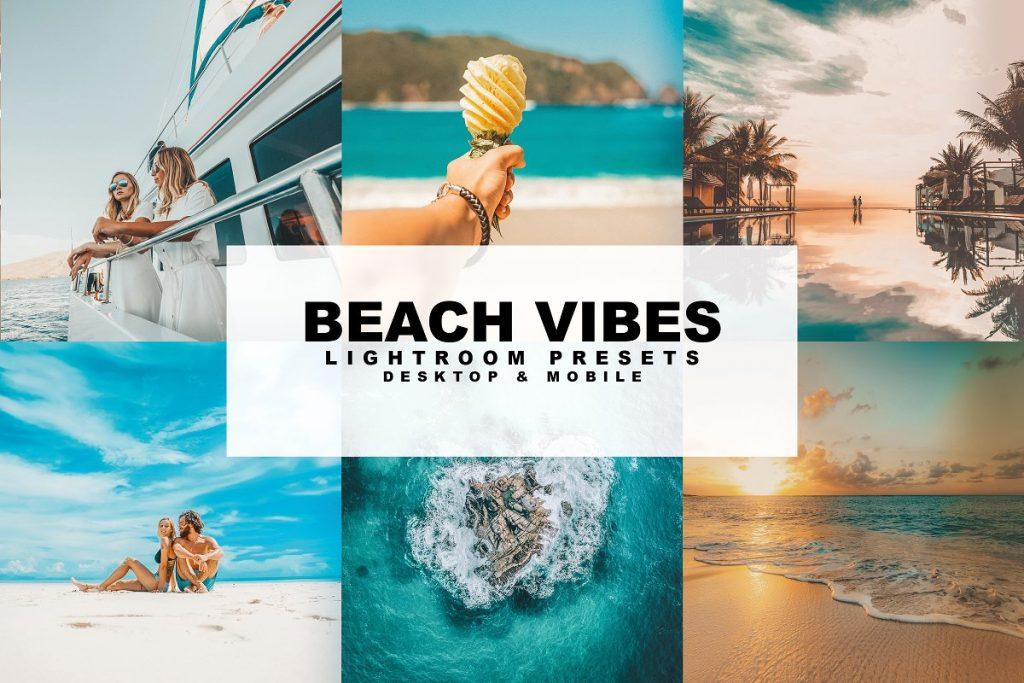 Preset Beach Vibes Presets for lightroom