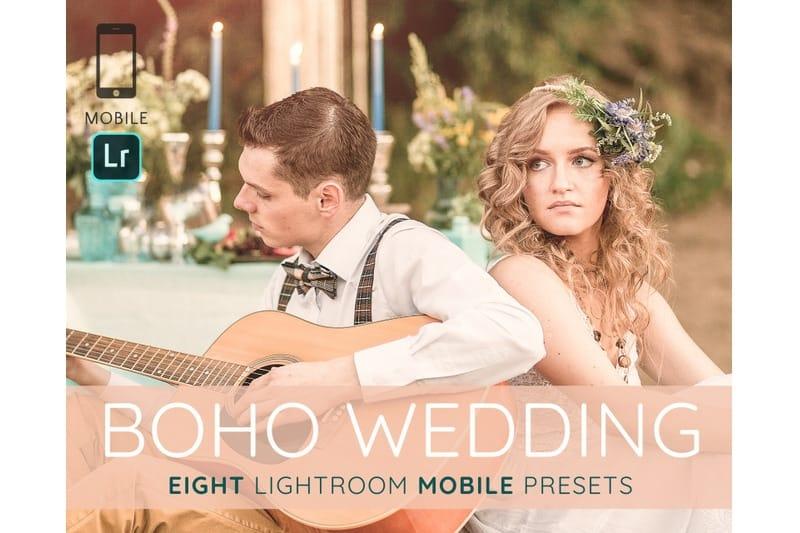 Preset Boho Wedding Lightroom Presets for lightroom