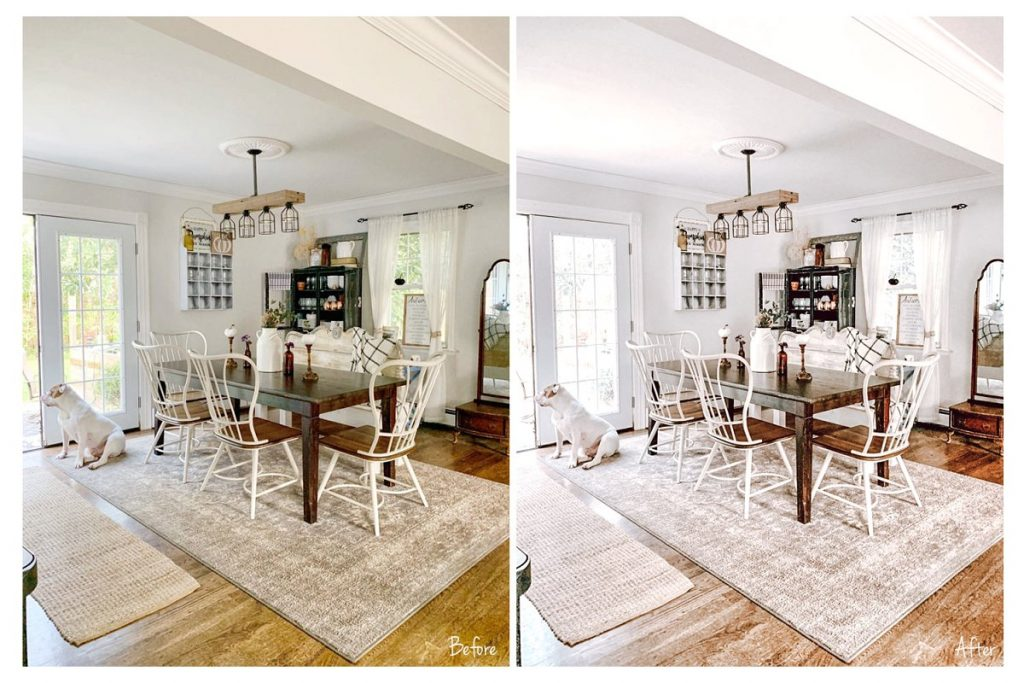 Preset Bright and Airy Indoor Presets for lightroom