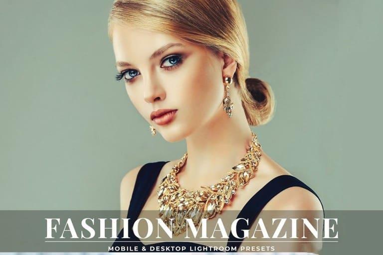 Preset Fashion Magazine Lightroom Presets for lightroom