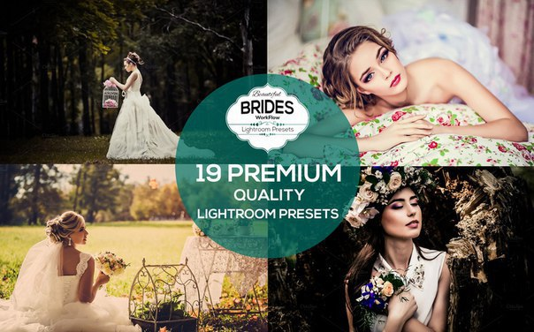 Preset 19 Premium Bride Presets for lightroom