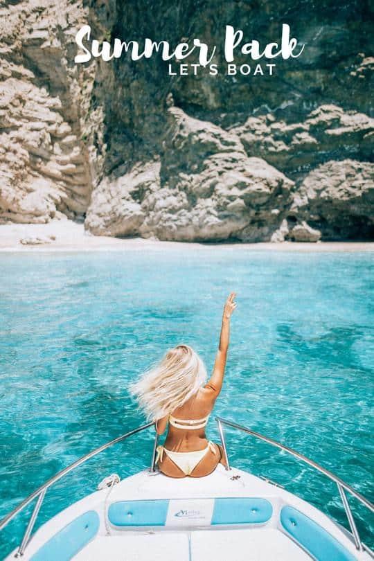 Preset Travel in Her Shoes - Summer Pack Presets for lightroom