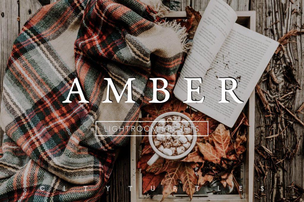 Preset Amber Moody Fall Lightroom Presets for lightroom