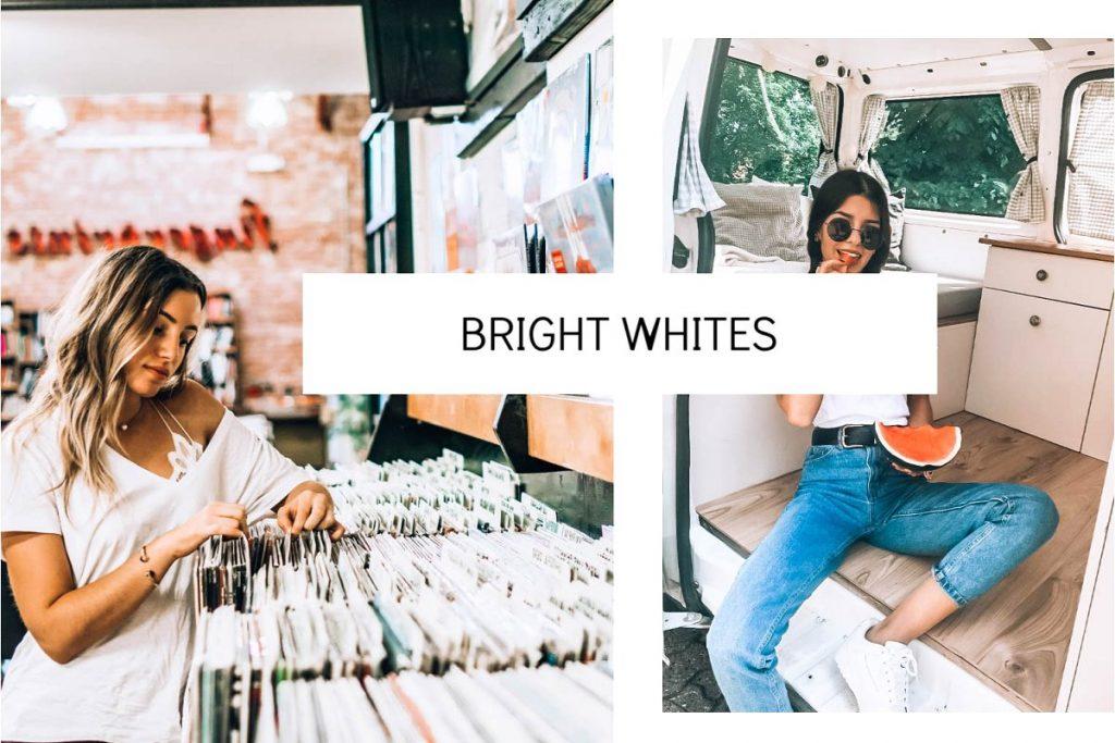Preset Bright Whites Preset for lightroom