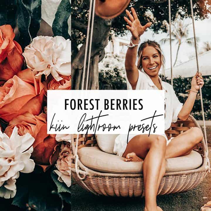 Preset Forest Berries Presets for lightroom