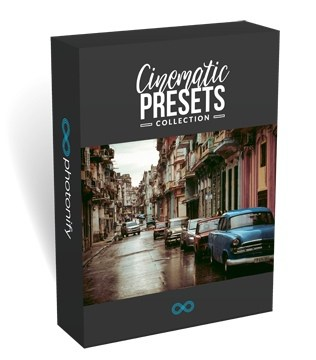 Preset Cinematic Presets Collection for lightroom