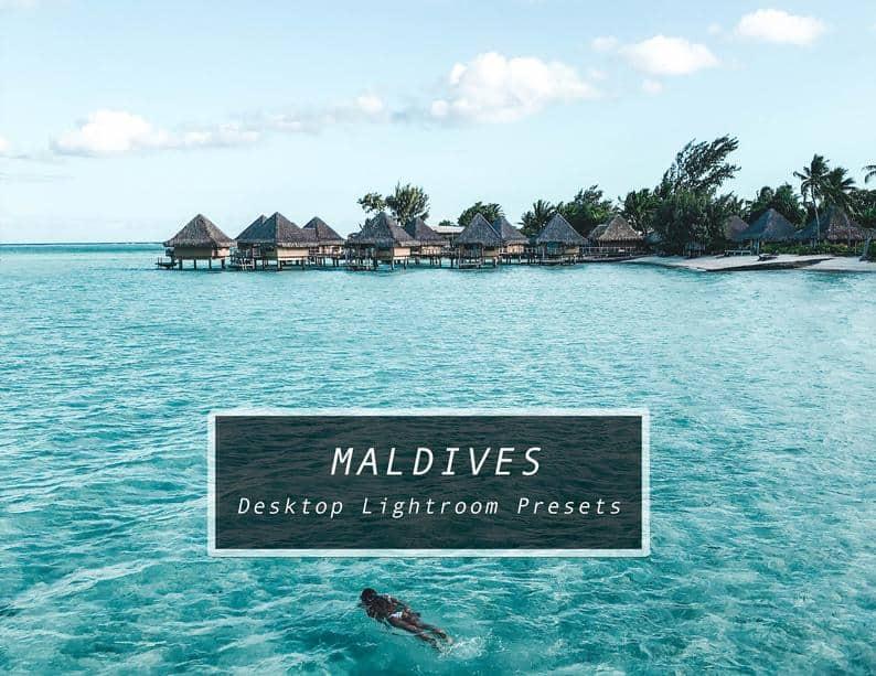 Preset Maldives Lightroom Presets for lightroom