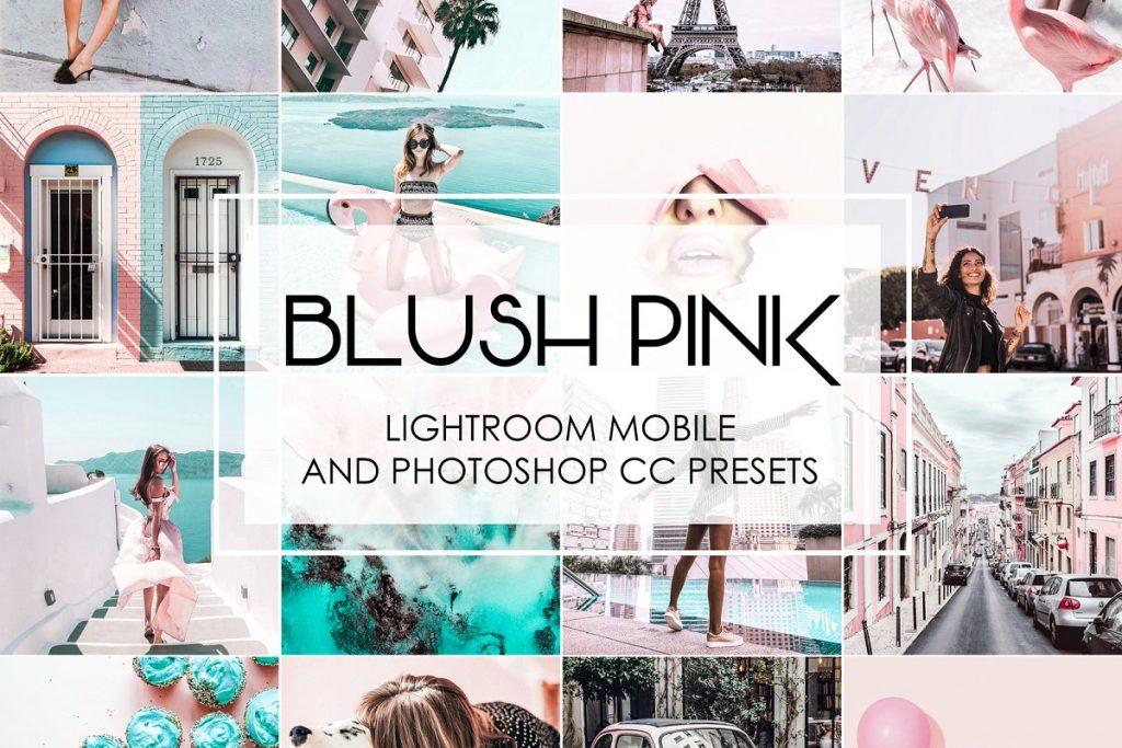 Preset Blush Pink Lightroom Presets for lightroom