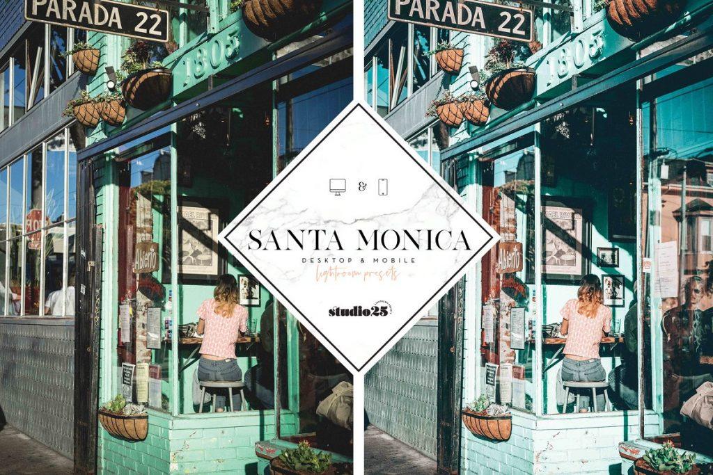 Preset Santa Monica Presets for lightroom