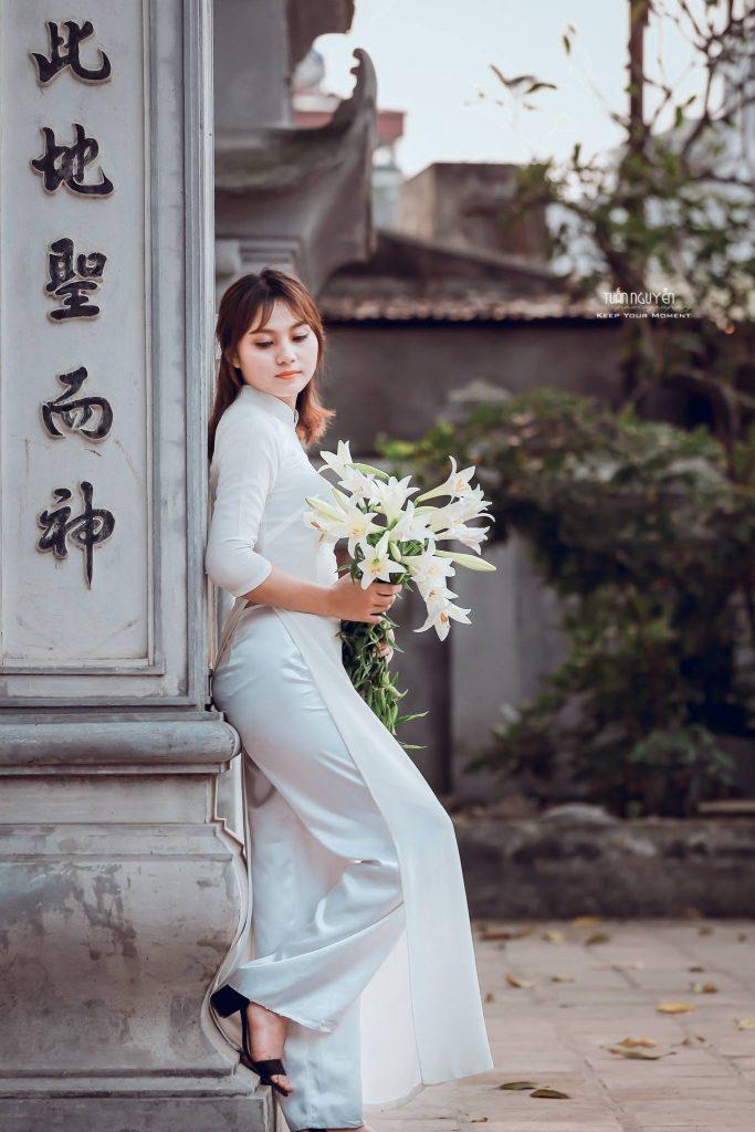 Preset Lady in White for lightroom