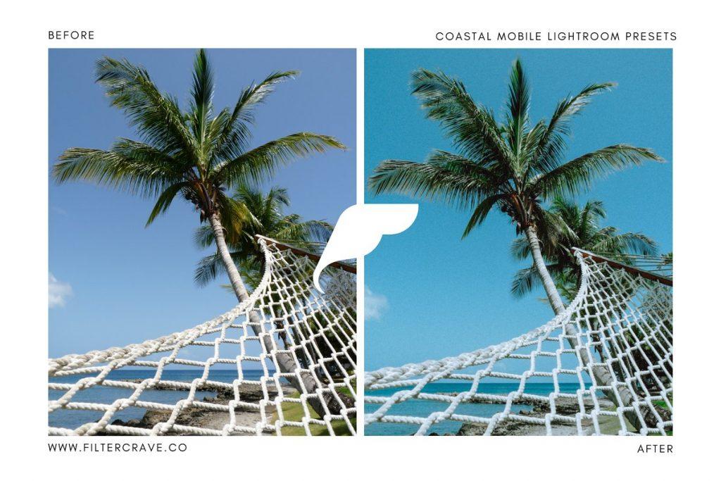 Preset Coastal Mobile Lightroom Presets for lightroom
