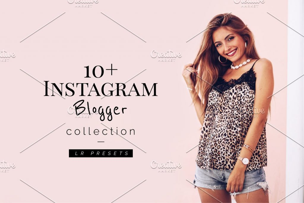 Preset 10+ Blogger Instagrammer LR Presets for lightroom