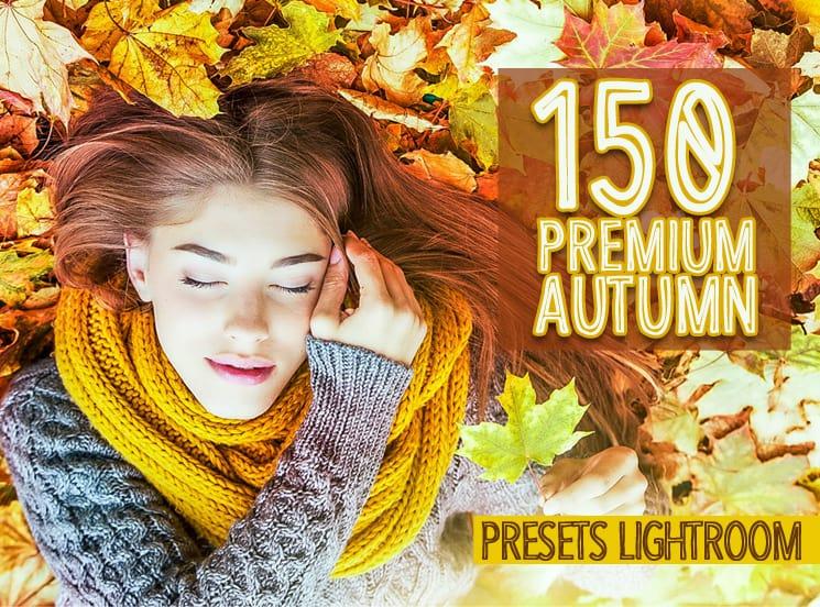 Preset 150 Premium Autumn Preset Lightroom for lightroom