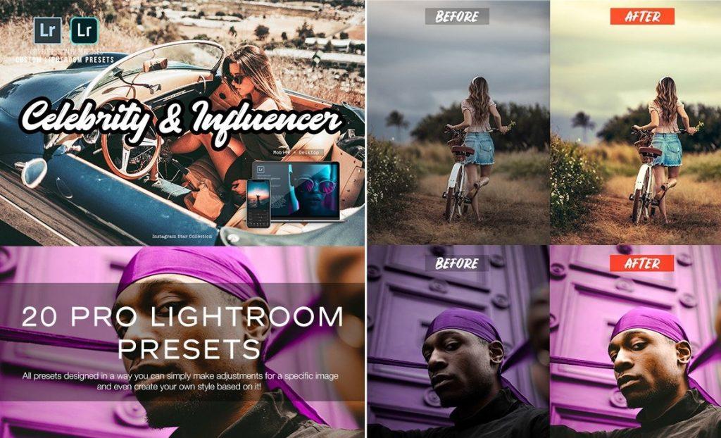 Preset 20 Influencer Presets for lightroom