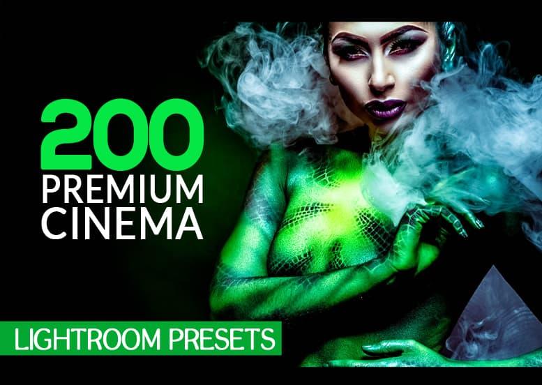 Preset 200 Premium Cinema Lightroom Presets for lightroom