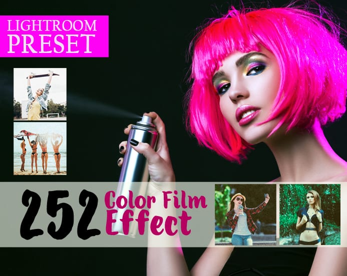 Preset 252 Premium Color Film Effect for lightroom