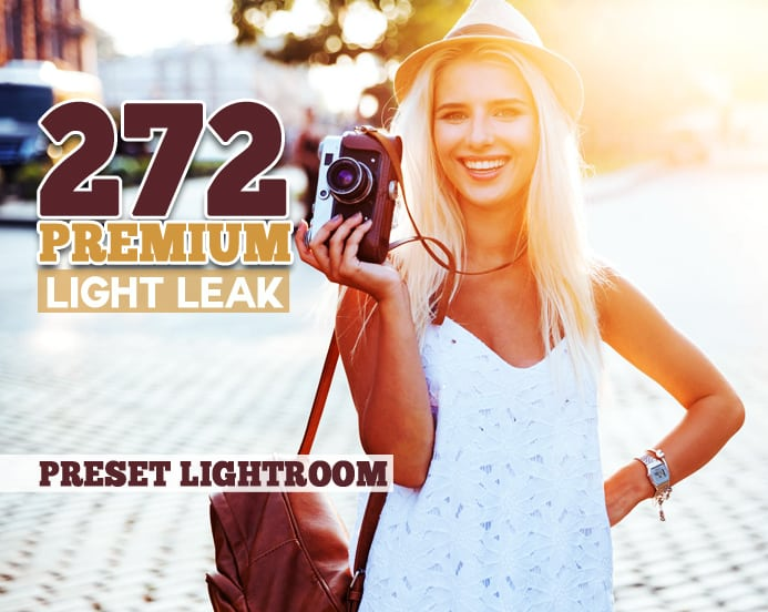 Preset 272 Premium Light Leak for lightroom