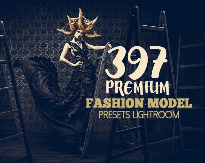 Preset 397 Premium Fashion Model for lightroom