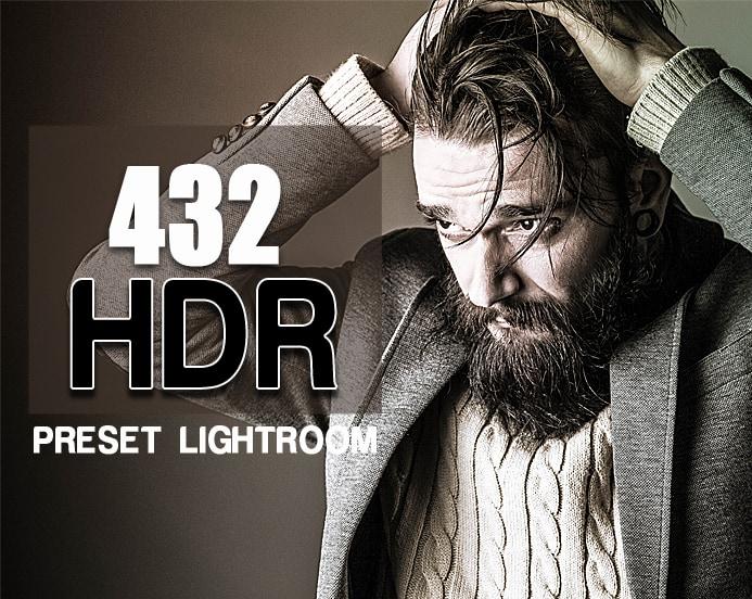 Preset 432 Premium HDR Presets for lightroom