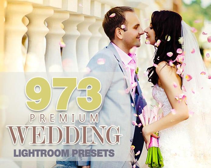 Preset 973 Premium Wedding Lightroom Presets Collection for lightroom