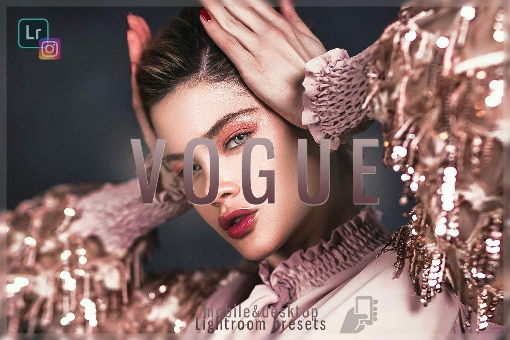 Preset Vogue Desktop Lightroom Preset Fashion for lightroom